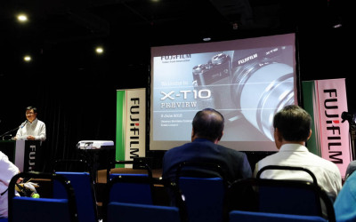 Fujifilm X-T10 Malaysia Launch Preview Event