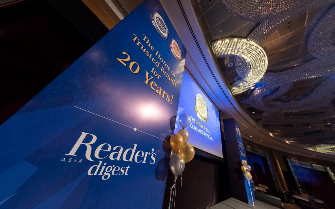Reader's Digest Trusted Brands Awards Malaysia 2018